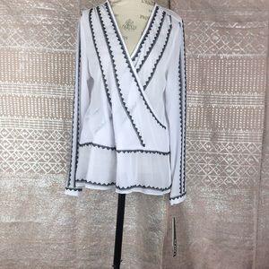 🆕XOXO sheer blouse